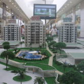Maquete no shopping Crystal